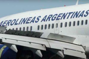 Aerolíneas Argentinas, retro, B737
