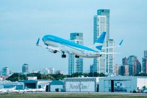 B787, Aerolíneas Argentinas, avión, aeroparque