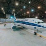 Aerolíneas Argentinas presentó su B737NG retro