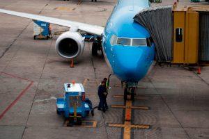 Aerolíneas Argentinas mejora sus tiempos de turnaround