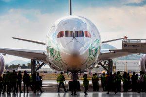 Aeroméxico celebra 20 años de vuelos a Santiago de Chile