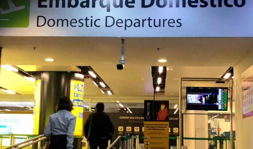 Aeropuerto de Brasilia, covid19