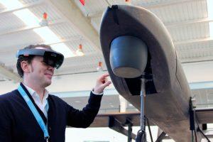Aertec presenta su sistema de asistencia para MRO basado en realidad aumentada