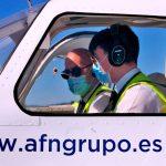 AFN reactiva el entrenamiento en vuelo