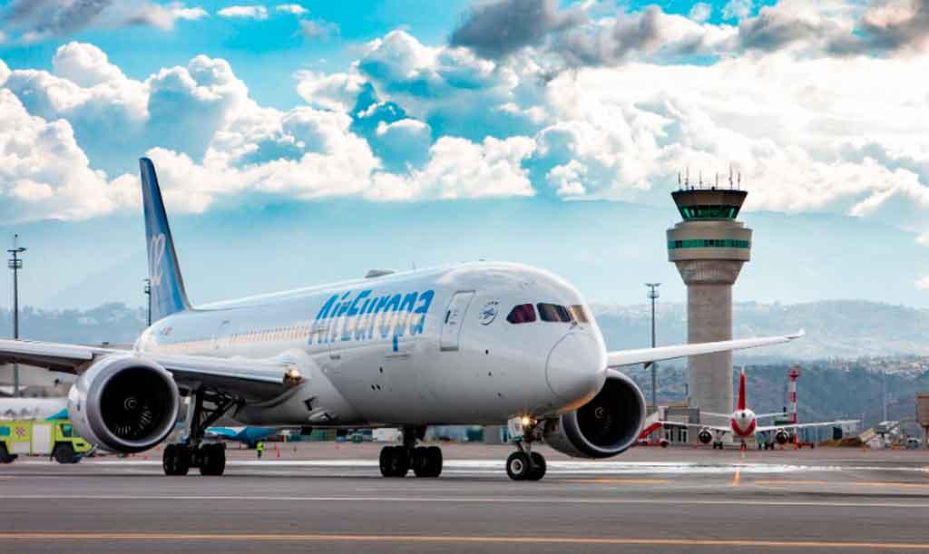B787, Air Europa, Quito