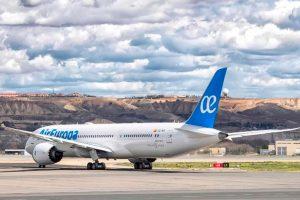 Air Europa crea una nueva unidad de negocio dedicada al transporte de carga aérea
