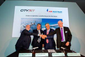 Air Nostrum y CityJet crearán el mayor grupo europeo de aerolíneas regionales