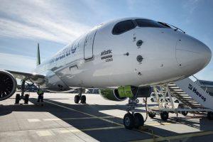 airBaltic recibe su quinto CS300