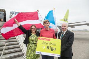 AirBaltic lanza vuelos entre Riga y Aberdeen