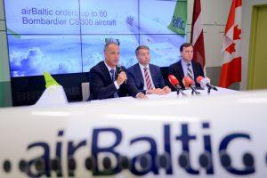 airBaltic adquirirá hasta 60 nuevos Bombardier CS300 para desarrollar su nuevo plan de negocio