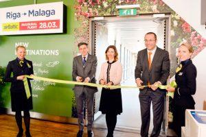 airBaltic comienza a operar entre Riga y Málaga