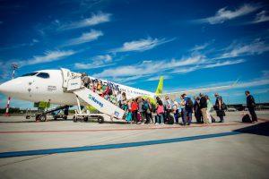 airBaltic transporta a más de 3,5 millones de pasajeros en 2017