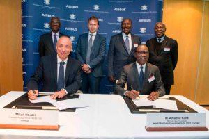 Airbus firma un acuerdo con el gobierno de Costa de Marfil para el desarrollo de su industria aeroespacial