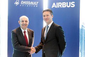 Airbus y Dassault Aviation firman un contrato para el estudio de concepto conjunto del Futuro Sistema Aéreo de Combate