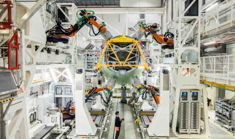 Fábrica Airbus en Hamburgo