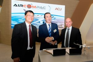 Aircom Pacific se asocia con Airbus Corporate Jets
