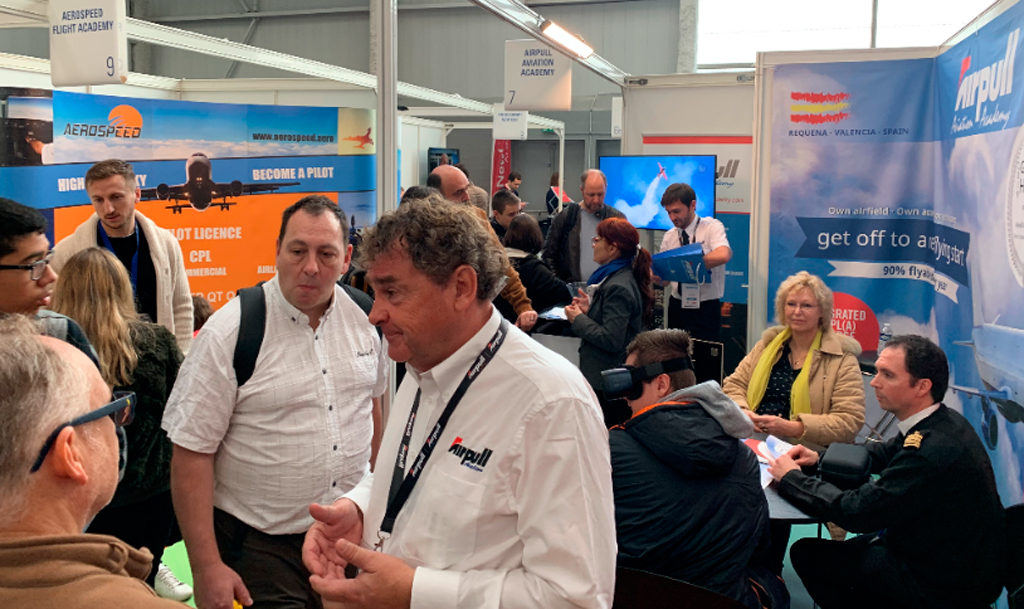 stand, airpull, le bourget
