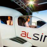 ALSIM presenta su nuevo simulador de vuelo AL40