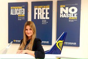 Ryanair nombra a Alejandra Ruiz Sales and Marketing Manager para España