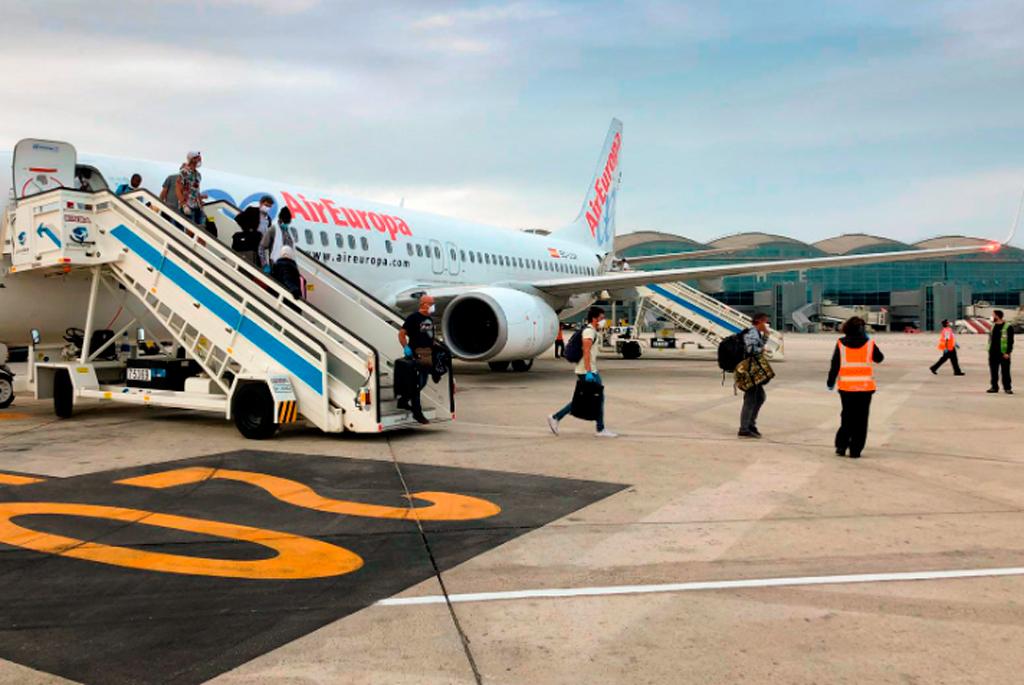 Air Europa, Vuelo de repatriación