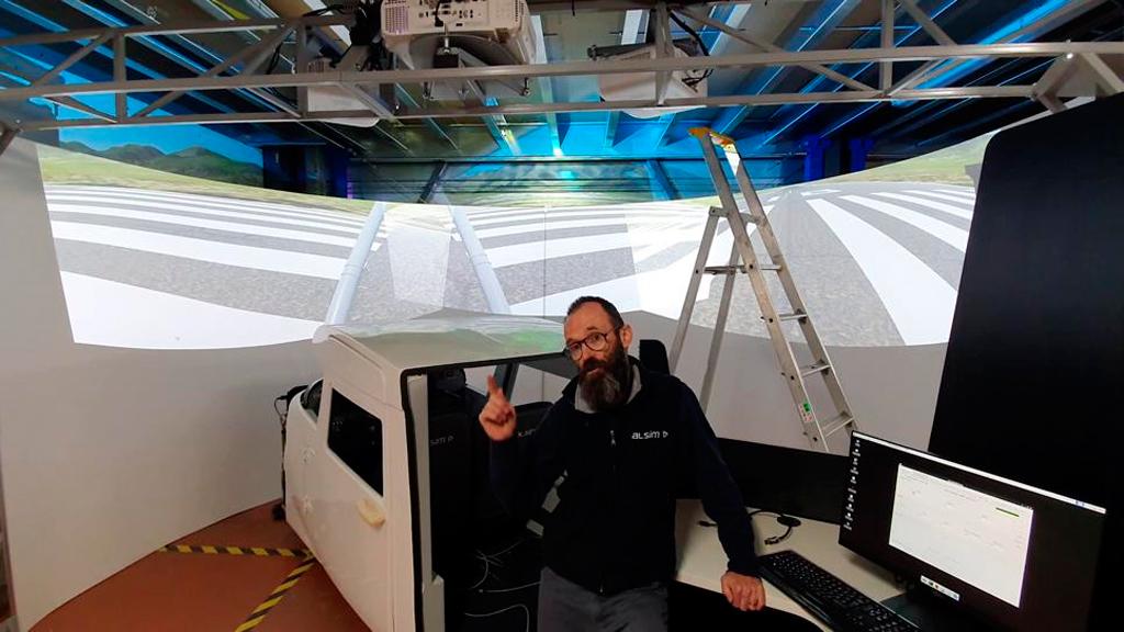 Alsim, instalación, simulador