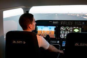 La escuela francesa Astonfly adquiere dos simuladores FNPT II de Alsim
