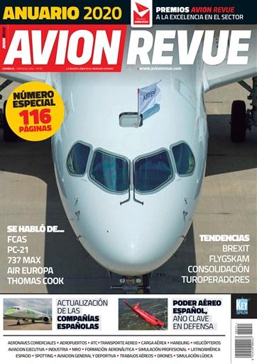 Portada Avion Revue Anuario 2020