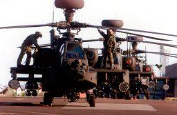 Leonardo es elegido para dar soporte operacional a los Apaches del Reino Unido