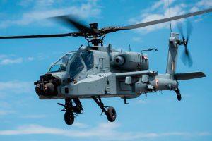 Helicóptero Apache indio