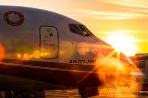 Dos aerolíneas chinas respaldan al ARJ21