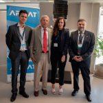 ARSAT realiza reunión de trabajo con INVAP
