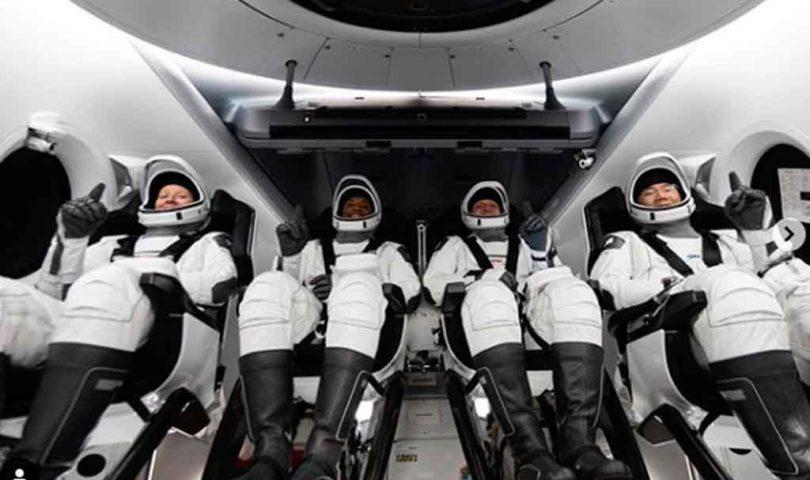 Astronautas ISS