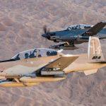 Estados Unidos aprueba la venta de 4 AT-6 Wolverine a Túnez