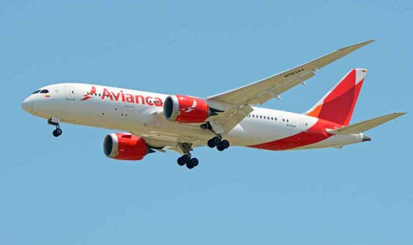 Avianca, avión