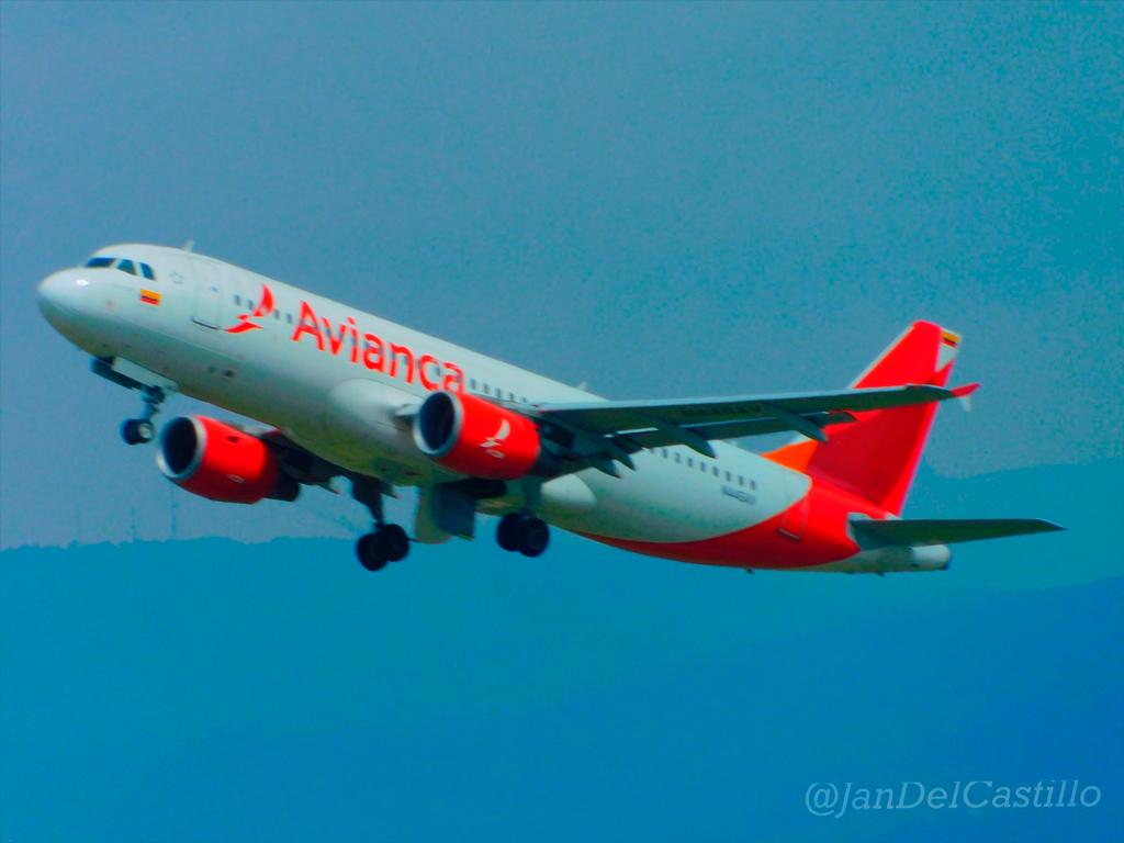 Avión de Avianca (Foto: Jan del Castillo)