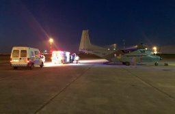 La Fuerza Aèrea Uruguaya realiza traslado aeromèdico desde Treinta y Tres