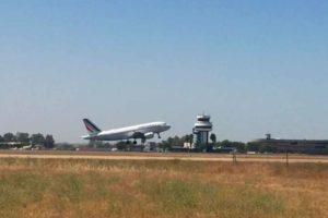 Air France, avión, Sevilla, Aeropuerto de Sevilla