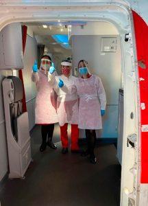 Avianca, vuelo repatriación, tripulación