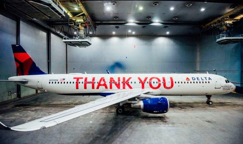 avión, Delta, A321