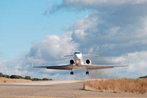 Air BP aterriza en el Aeródromo de La Perdiz