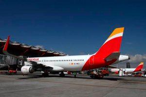 Iberia, Barajas, Avión