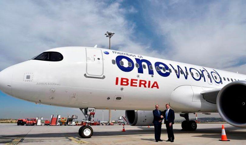 Iberia, OneWorld,
