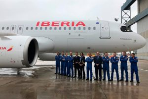 """El A320neo """"Patrulla Águila"""" ya está en la flota de Iberia"""