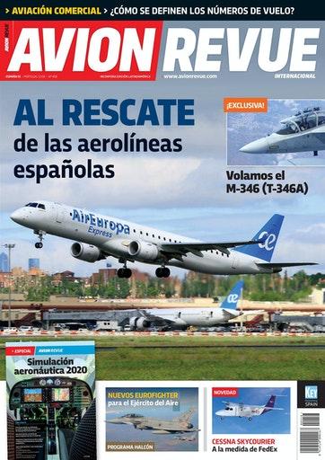 Portada Avion Revue nº458