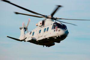 Primer AW101 optimizado entregado al Reino Unido