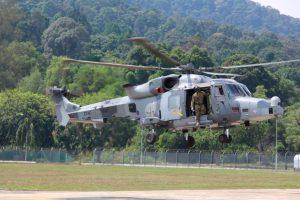 Leonardo muestra su helicóptero AW159 a las Fuerzas Armadas de Malasia