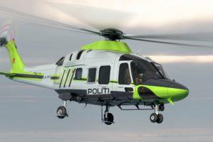 La Dirección de Policía de Noruega escoge AW169 como su nuevo helicóptero