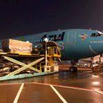 Azul pone a disposición su red doméstica para transporte de vacunas