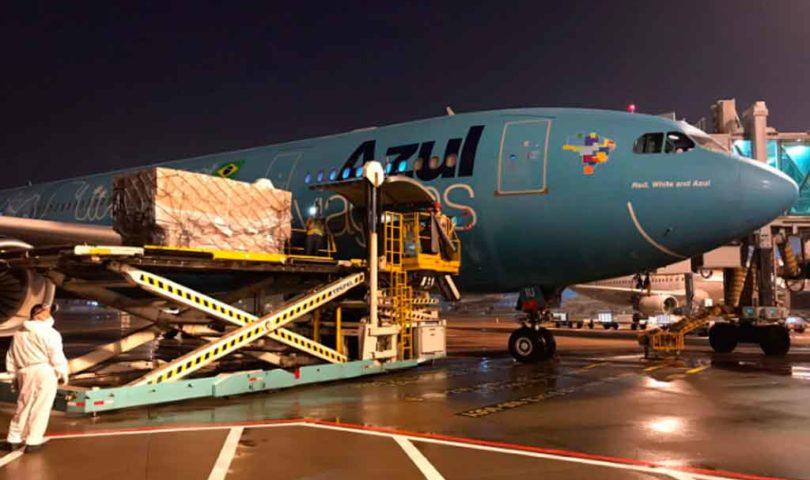 Azul Cargo, A eropuerto de Amsterdam