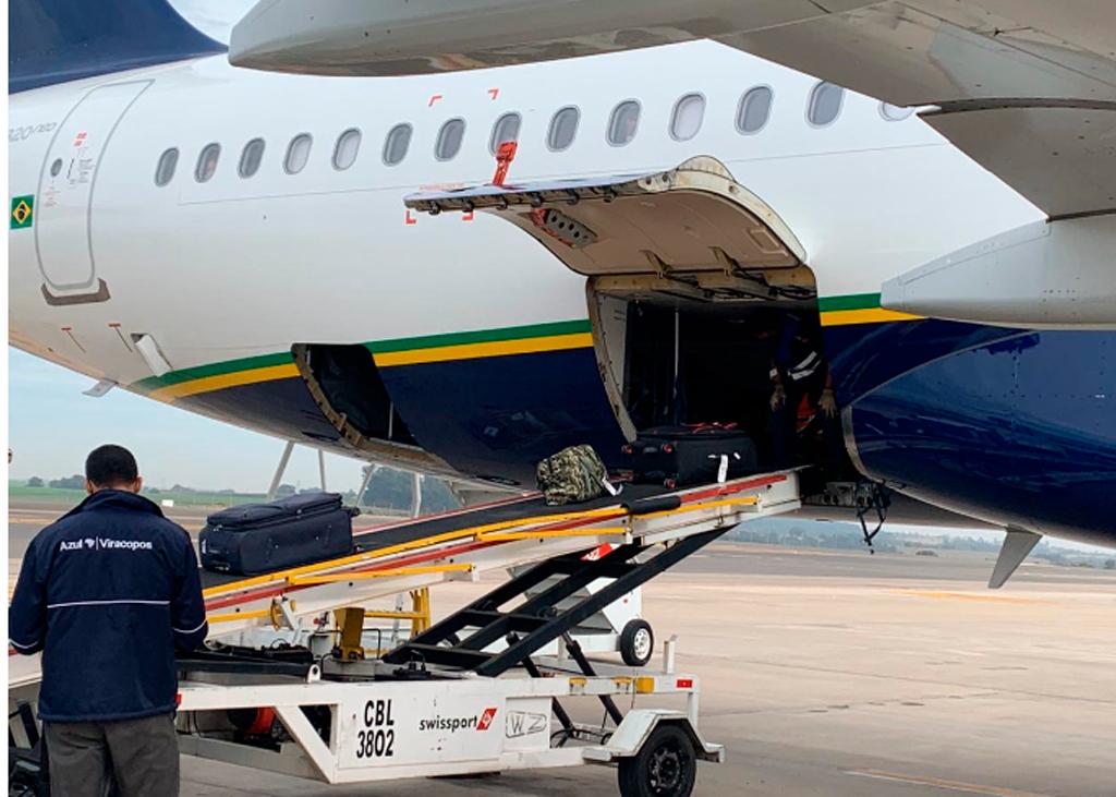 Equipaje, A320, Azul